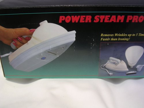 Iron Power Steam Pro ; Great for Travel & Includes Facial St