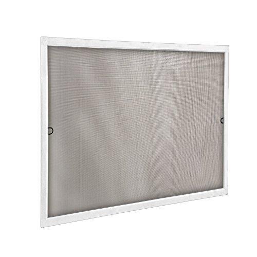 JAROLIFT Insektenschutz Spannrahmen SlimLine für Fenster 100 x 150cm in weiß