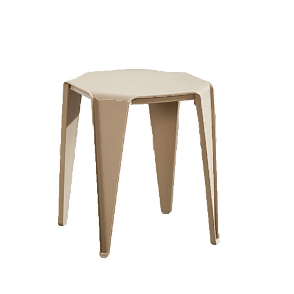 Camel FXNN Stool - Home Thickening Chair Stool Square Stool (color   Pink)