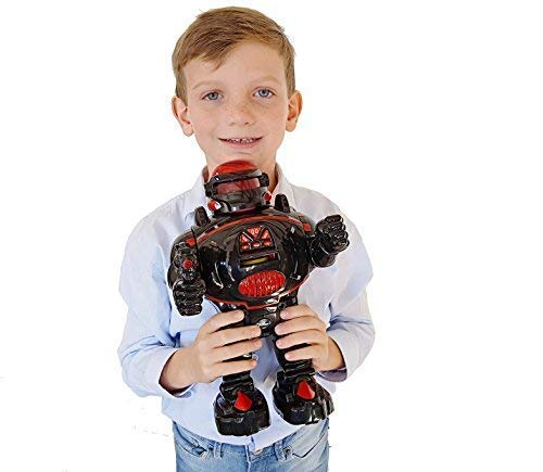 Think Gizmos Remote Control Robot for Kids - RoboShooter Robot Toy for Boys & Girls Aged 5 6 7 8 (Black) by Think Gizmos (Image #9)