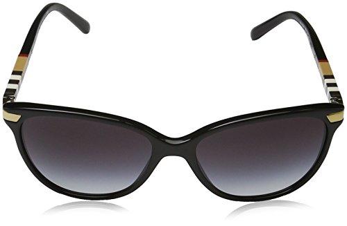 Gafas Unisex de Adulto Negro Burberry Black Gray Sol 7wpqdn5t