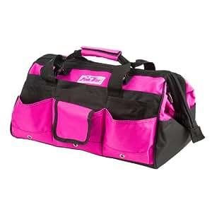 The Original Pink Box PB16TB 16-Inch Tool Bag, Pink