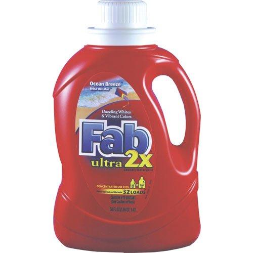 Phoenix Brands Llc Pbc 37155 Fab 2X Ultra Conc Lndr Dtrgnt Liq 50Oz Btl Ocea PBC 37155