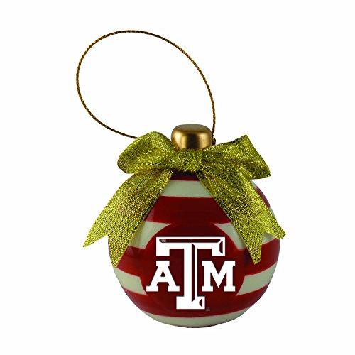 LXG, Inc. Texas A&M University -Christmas Bulb Ornament (Christmas Texas A&m Lights)