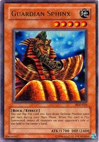 - Yu-Gi-Oh! - Guardian Sphinx (PGD-025) - Pharaonic Guardian - Unlimited Edition - Ultra Rare