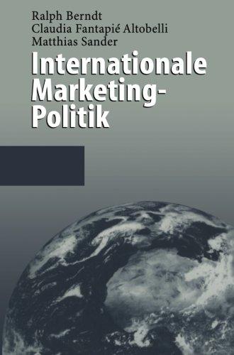 Internationale Marketing-Politik (German Edition)