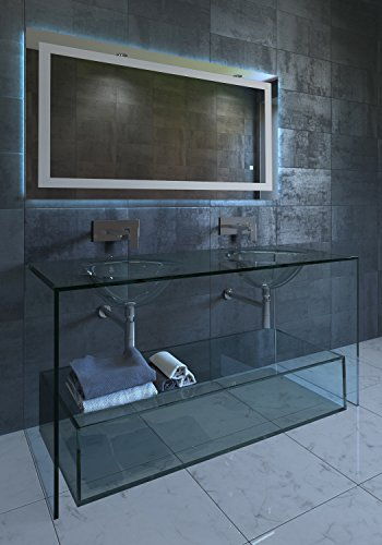 Nezza NLM-001-048 Lavva Contemporary Illuminated LED Bathroom Mirror, -