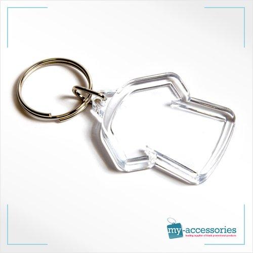 My-Accessories Llavero con Forma de Camiseta en Blanco Ideal ...