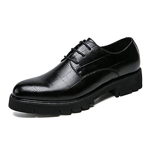 Moda Nero Cricket Uomo Formal Scarpe Wear Shoes Antiskid da da Fashion Outsole Oxford TTUZx