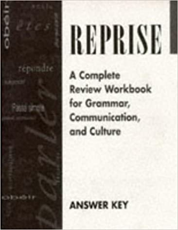 reprise workbook answers