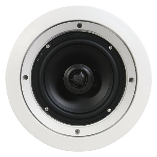 "SpeakerCraft 6-1/2"" In-Ceiling Speakers (5-Pack) White ASM86601-5"