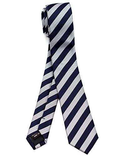 - WANDM Men's slim skinny tie necktie width 2