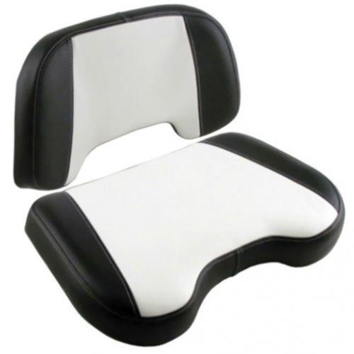 Seat Cushion Set- 2 Piece Vinyl Black/White Allis Chalmers 70243740 70236460 70236461 D17 D15 170 D12 D10 175 190 D14 180 D19 185 200 7050 7030 220 D21 - All Is Chalmers 220