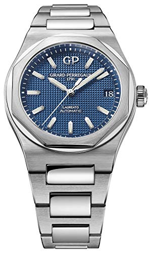 Girard-Perregaux-Laureato-42mm-Mens-Watch-Blue