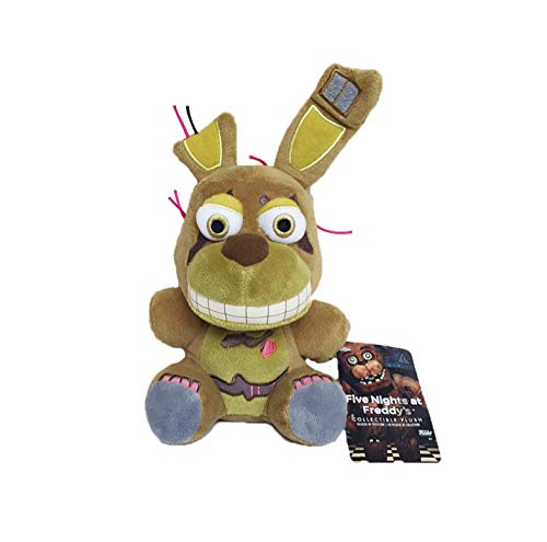LYH2019 Freddy Peluches Five Nights At Freddy 4 FNAF Nightmare Freddy Fazbear Bear Peluches Peluches Mu/ñeca Regalo para Ni/ños Ni/ños 18Cm