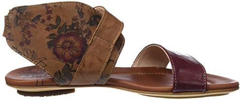 55 Brown Sandals 282514 55 Women's Lion Ankle Kombi Bussal Think Strap Kombi Lion Black qvp0xUw