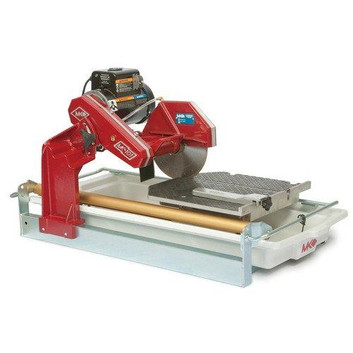 Mk Tile Wet Saw 101 (MK Diamond MK-101-24 1.5 HP 10 in. Wet Cutting Tile Saw)