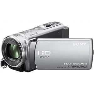 "Sony CX200E - Videocámara (CMOS, 5,3 MP, 1/0,228 mm (1/5.8""), 25x, 300x, 2,5 - 62,5 mm) Plata"
