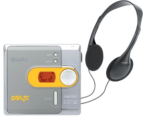 Sony MZ-N420D Psyc Net MD Walkman Digital Music Player by Sony