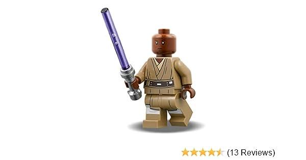 Jedi Mace  windu MiniFigure NEW Fits Lego Starwars Star Wars  Jedi