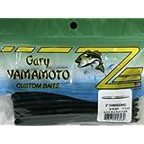 "Gary Yamamoto 5"" Senko Black with Blue Flake 9-10-021"