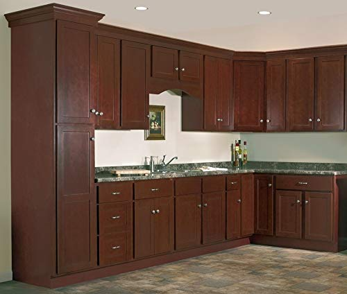 (11 JSI Kitchen Wall and Base Cabinets for a 10' x 10' Kitchen. Salem Design in solid Maple Wood)