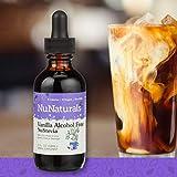 NuNaturals NuStevia Liquid Vanilla Stevia Alcohol Free Natural Liquid Sweetener, Sugar-Free (2 oz)