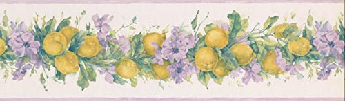 Wallpaper Borders Primrose Lemons 7