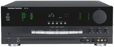 Harman Kardon AVR 125 Dolby Digital Receiver Discontinued by Manufacturer