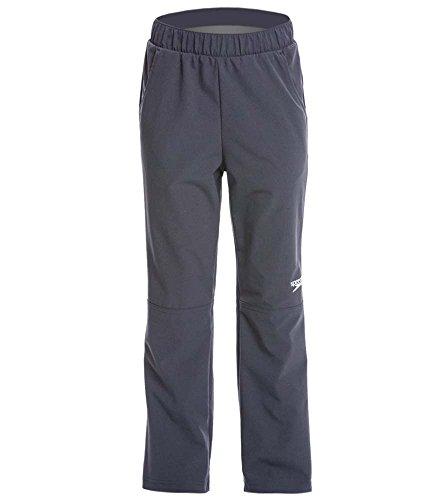 Youth Warm Up Jacket (Speedo 7720705 Youth Tech Warm Up Pant (), Dark Granite, Large)