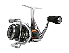 Helios SX spinning reel has 8 high performance bearings and 1 Rolling bearing with a cyclonic flow rotor. The cyclonic flow rotor was designed to create a cyclonic Airflow, which significantly increases air flow through the ported rotor. Allo...
