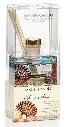 Yankee Candle Sun and Sand Signature 1.2 Ounce Mini Reed Diffuser (Candle Reed Oil Diffuser Yankee)