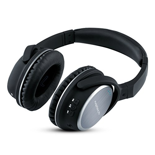 wireless bluetooth headphones workout over ear hi fi stereo headset with mic. Black Bedroom Furniture Sets. Home Design Ideas