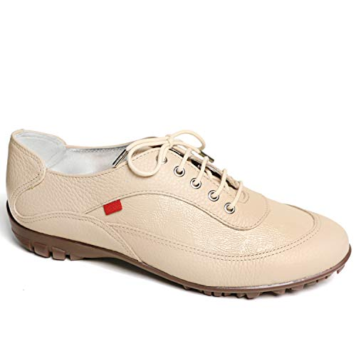 MARC JOSEPH NEW YORK Women's Leather Made in Brazil Luxury Lightweight Performance Golf Shoe
