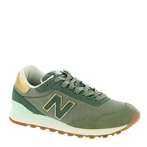 New Balance 515 Suede/Mesh Green