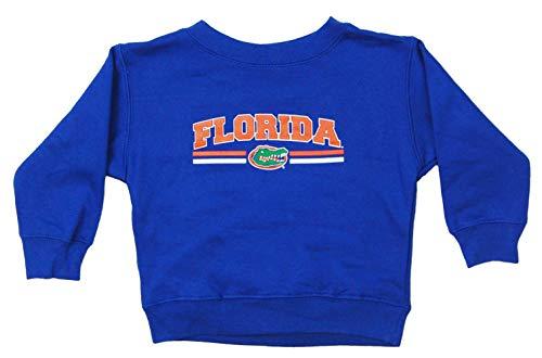 Little King NCAA Boys/Girls Toddler Crewneck Sweatshirt-Florida Gators-Royal-3T