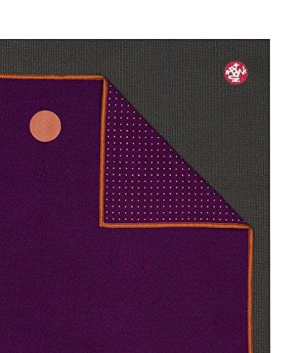 "yogitoes Yoga Mat Towel, Chakra Purple, 72"""