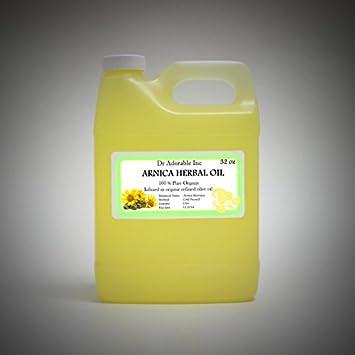 Organic Arnica Herbal Oil 100 Pure 32 Oz 1 Quart