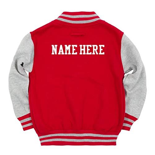 Custom Name Kids Varsity: Youth Varsity Letterman Jacket