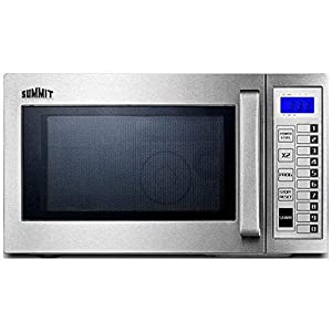 Summit SCM1000SS - Microwave, Stainless Steel, Digital Controls, 1000 Watts, 0.9 Capacity 11