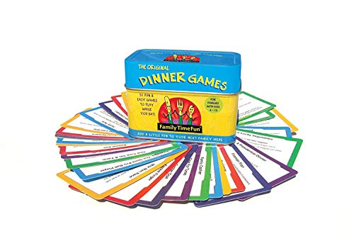 Family Time Fun Dinner Games and Activities]()