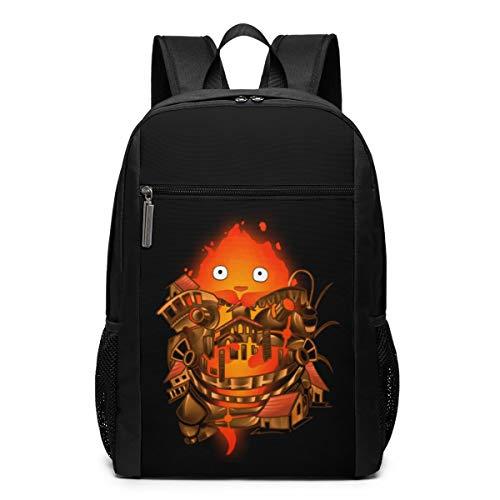 HEPPARD Howl's Moving Castle Comic Waterproof Backpack For Unisex Schoolbag