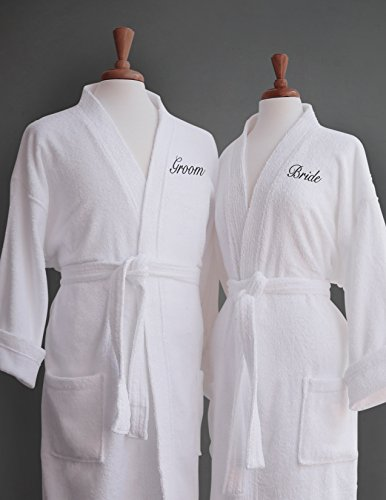 bride-groom-terry-cloth-bathrobe-set-100-egyptian-cotton-unisex-one-size-fits-most-luxurioussoftplus
