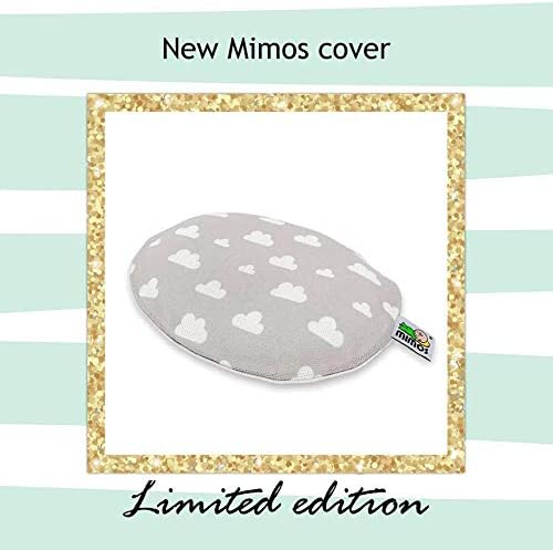 LOTE Coj/ín Mimos/® TALLA M Funda Gris Nubes
