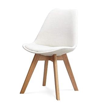 Wlyu0026Home Mitte Des Jahrhunderts Moderne Speise Stuhl Seite Holz  Zusammengestellte Beine Für Küche, Esszimmer,