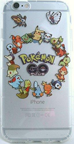 Pokemon Go iPhone 6, 6s Flexible TPU Cell Phone Cases (Pokemon Go Circle case) Photo - Pokemon Gaming