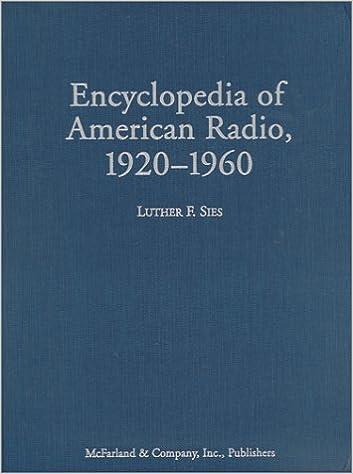 Encyclopedia of American Radio, Updated Edition