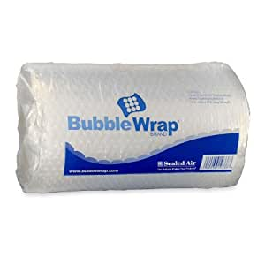 Sealed Air Bubble Wrap Cushioning Material, 3/16 Inch Thick, 12 Inches x 30 Feet (19338)