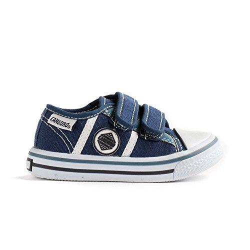 Canguro Zapatillas de Piel Para Niño Azul Turquesa 25 EU