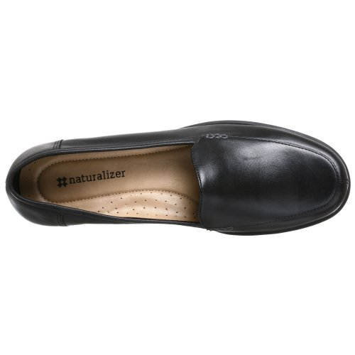 Naturalizer Dames Camera Loafer Zwart Leer